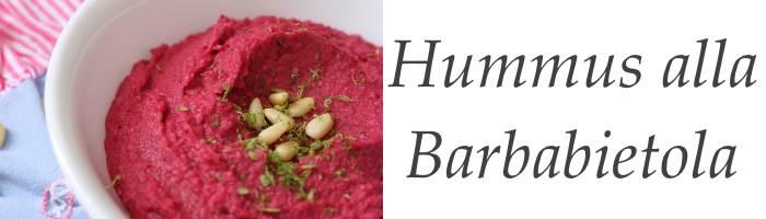 Ricetta Hummus alla Barbabietola