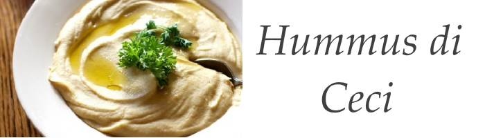Ricetta Hummus di Ceci Tradizionale