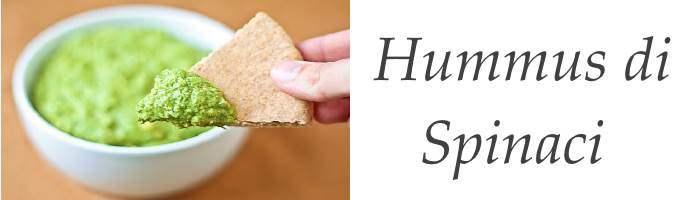 Ricetta Hummus di Spinaci